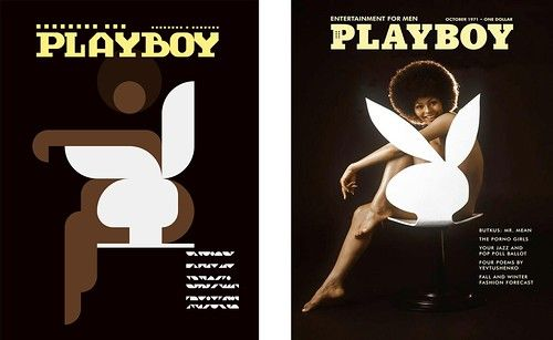 Side by Side - Iconic Magazine Cover #2 - Playboy 1971 by omarrr