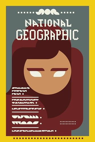 Iconic Magazine Cover #4 - Afghan Girl, National Geographic 1985 by omarrr