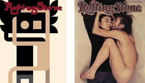 Side by Side - Iconic Magazine Cover #3 - Rolling Stone 1981 by omarrr