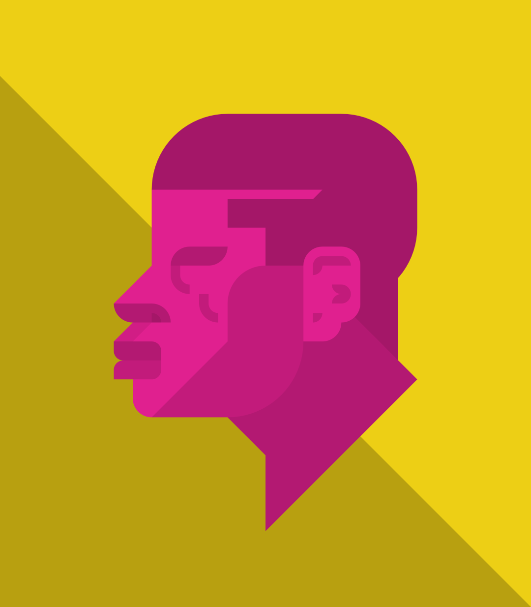 Profile of man #3
