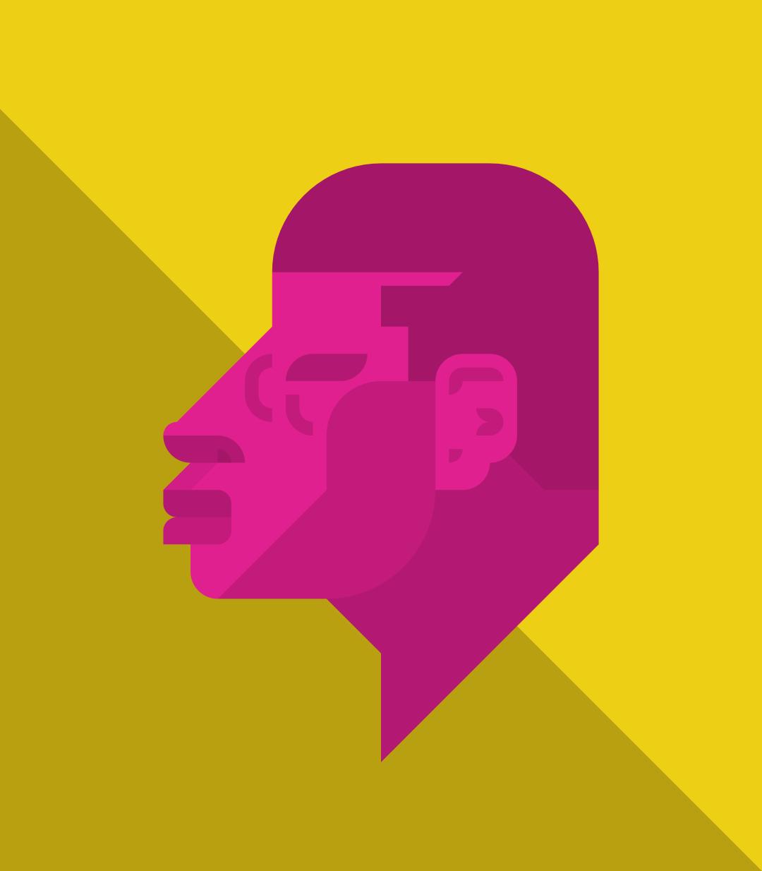 Profile of man #2