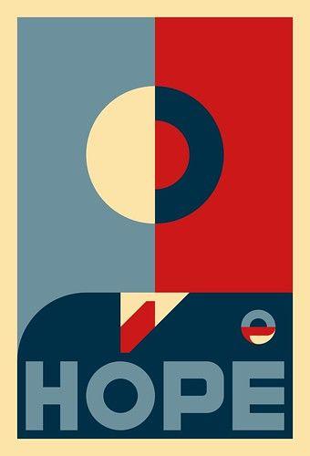 Icon of Hope - Shepard Fairey's Barack Obama