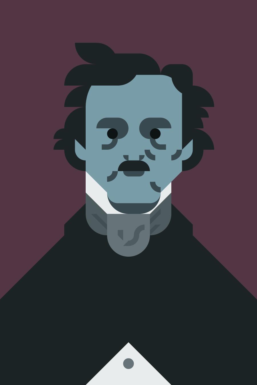 Edgar Allan Poe - Portrait