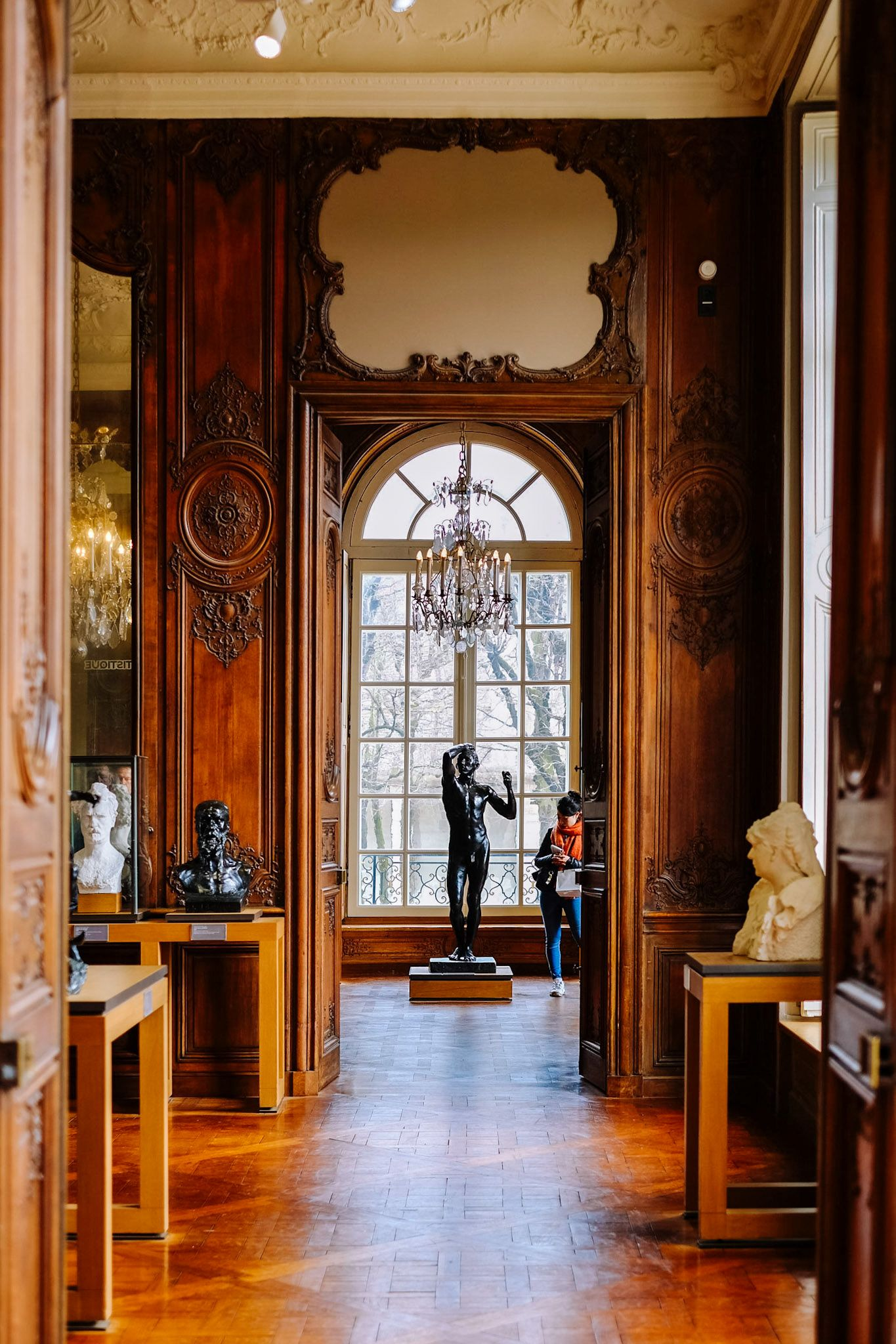 Hotel Biron interior at the Rodin Museum