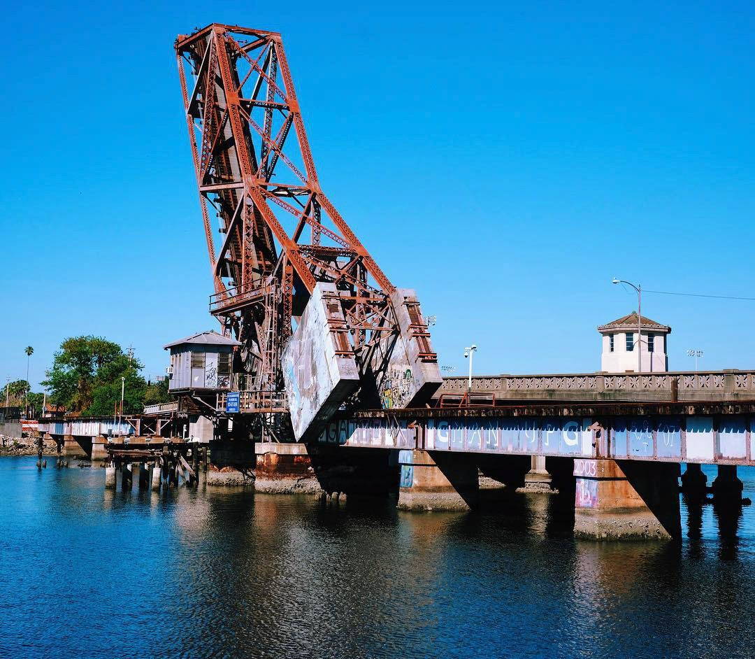 Old Steel Railroad Bridge