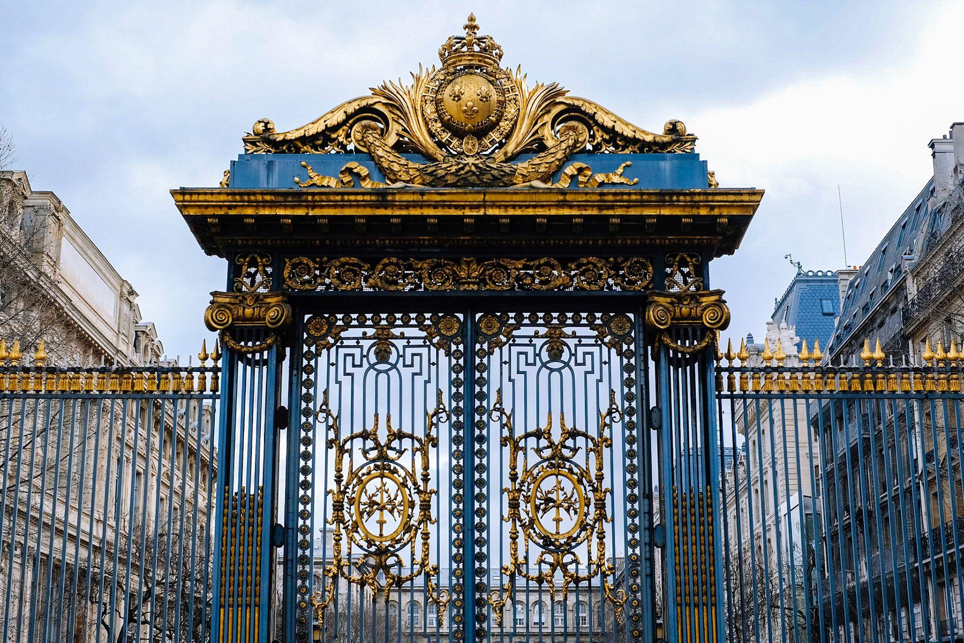 Gates of the Palais de Justice de Paris