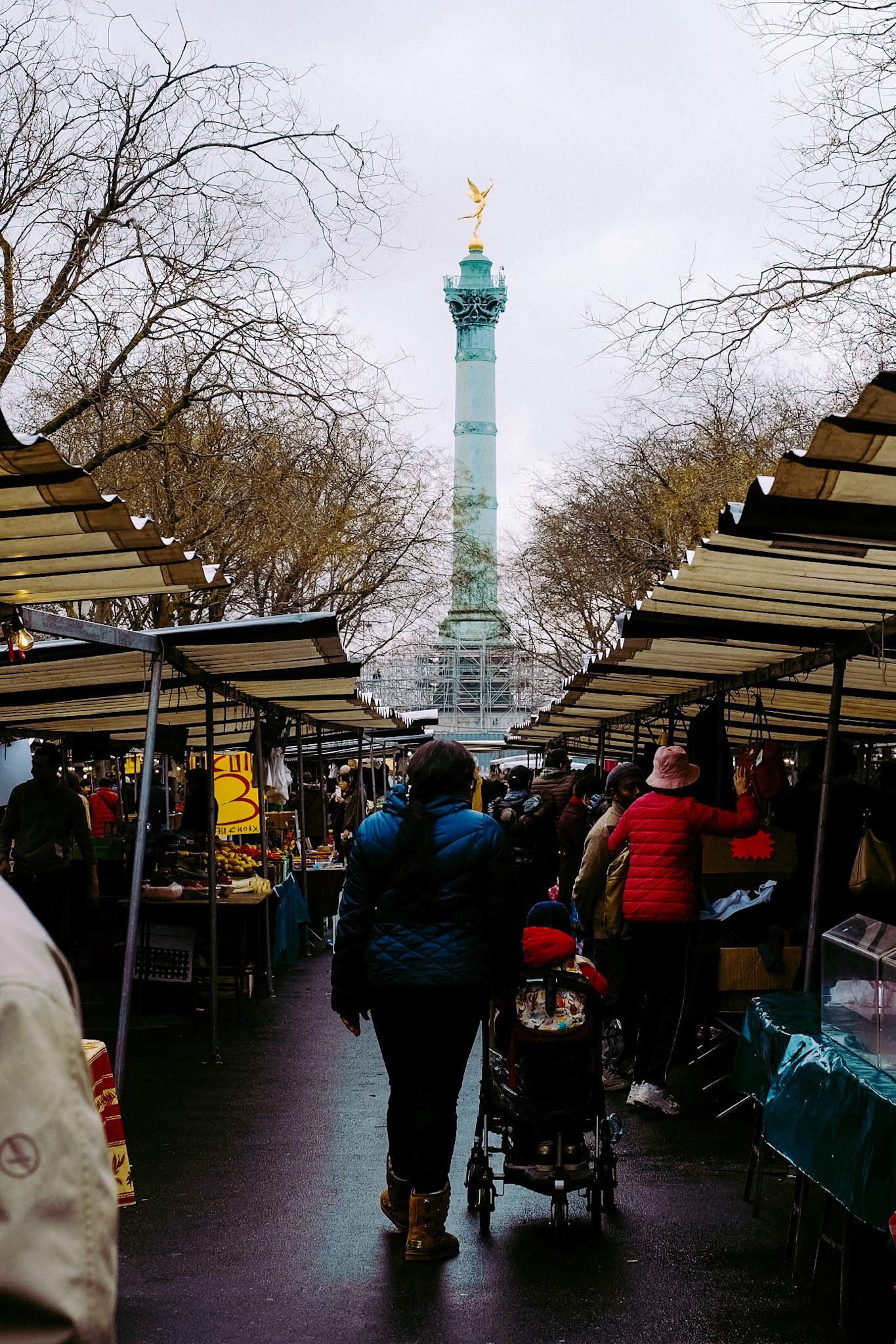 Marché Bastille - Bastille Market