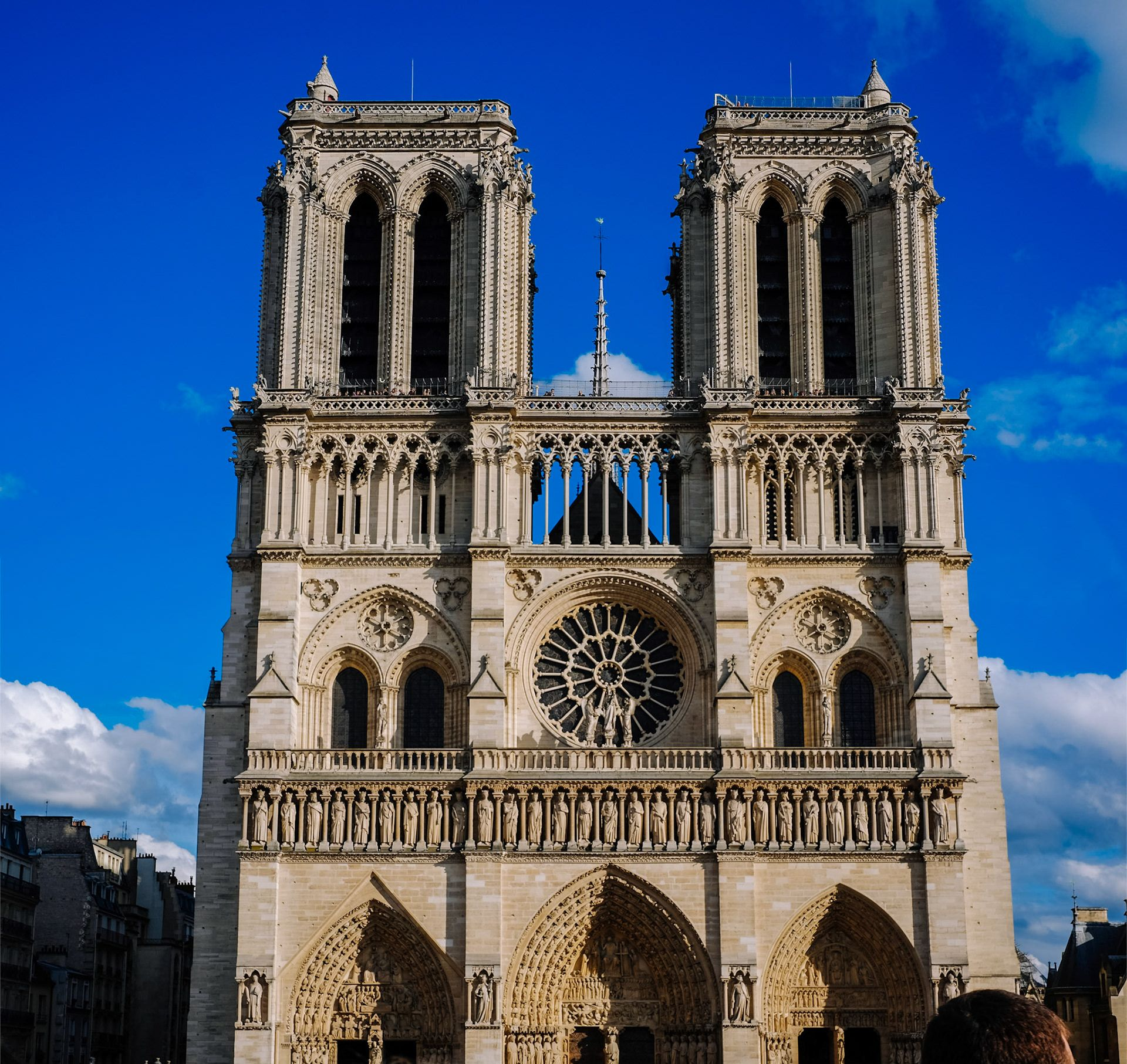 Notre Dame Cathedral front