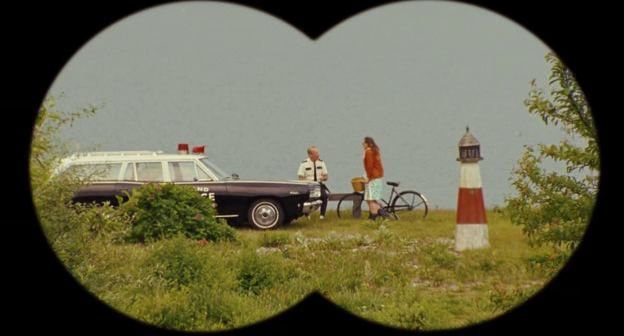 Wes Anderson, chatty and bright