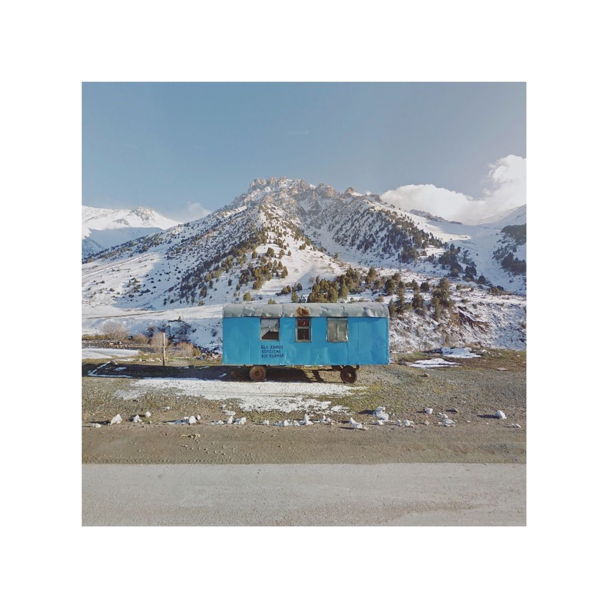 Mobile Home, Kyrgyzstan. Google Copyright/Created by Jacqui Kenny