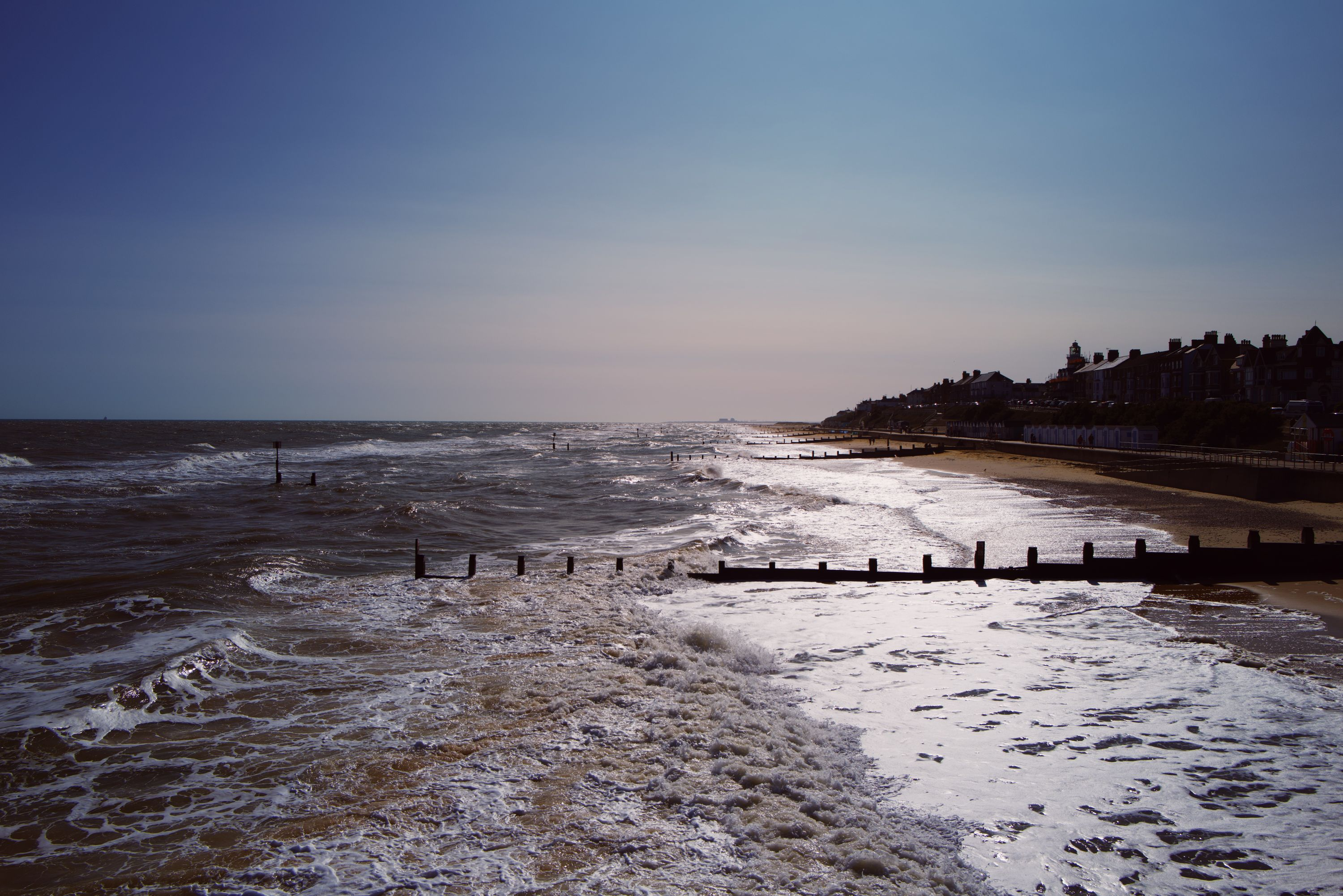 South from Southwold Pier