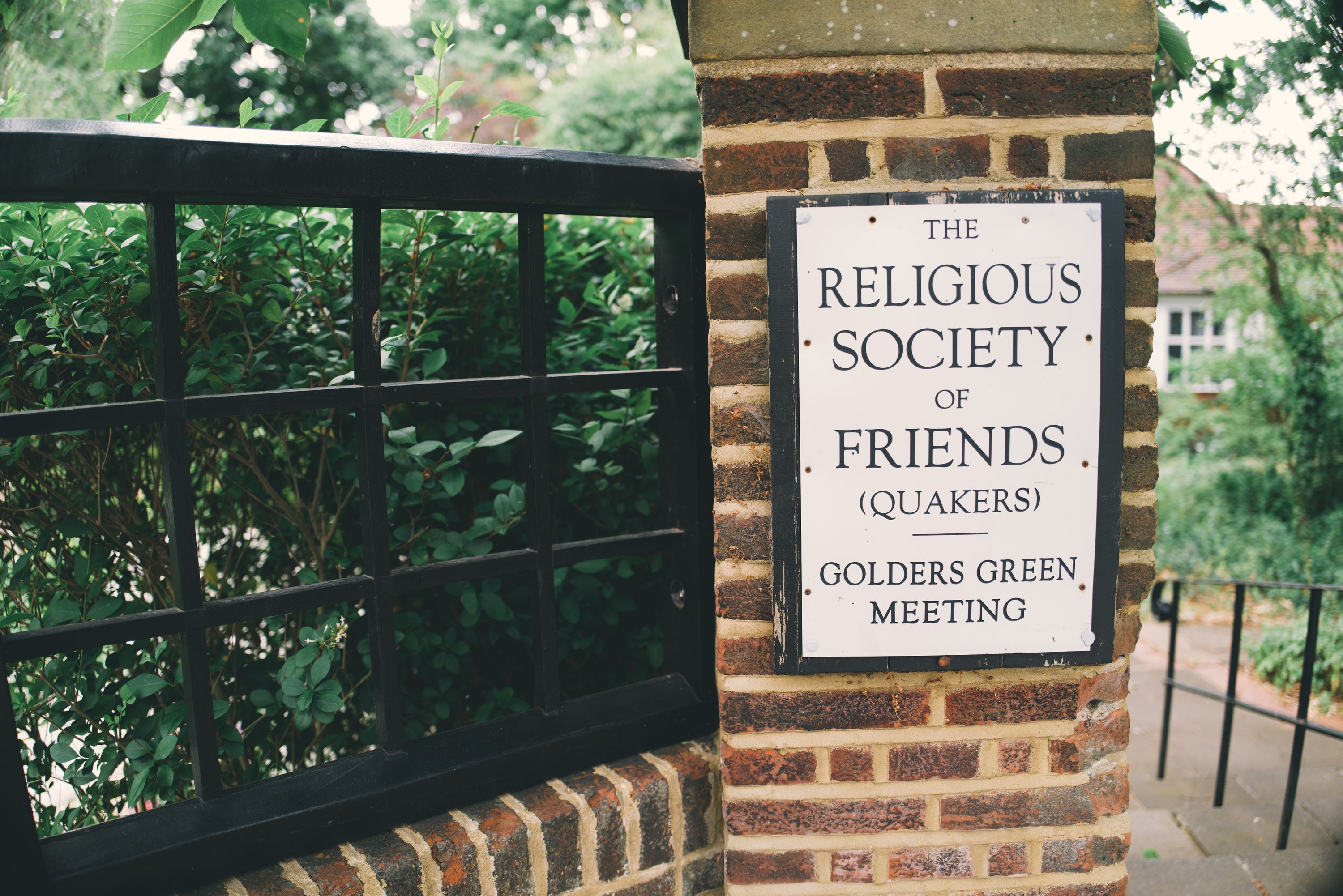 the religious society of friends