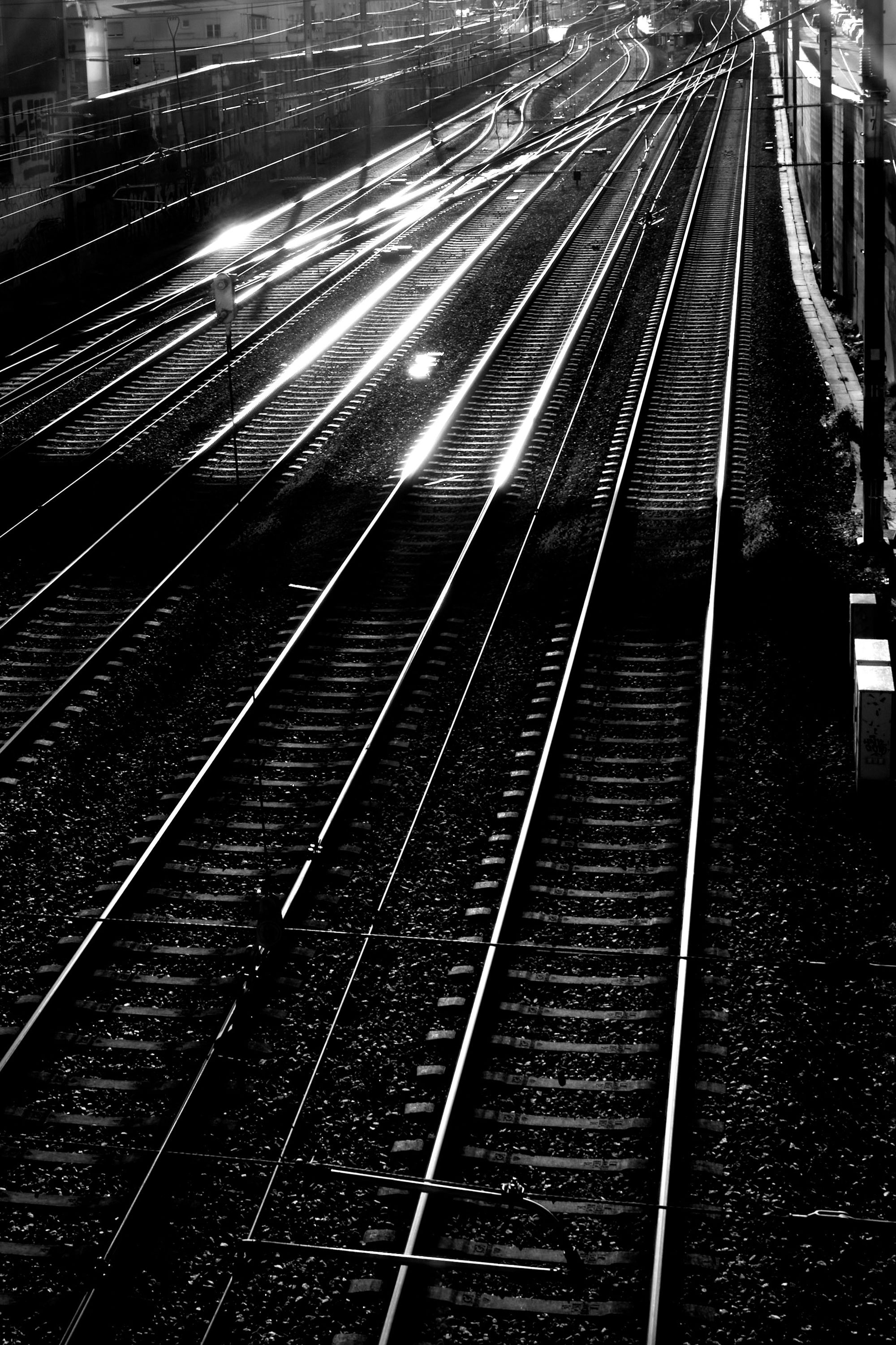 Sunlight on Tracks