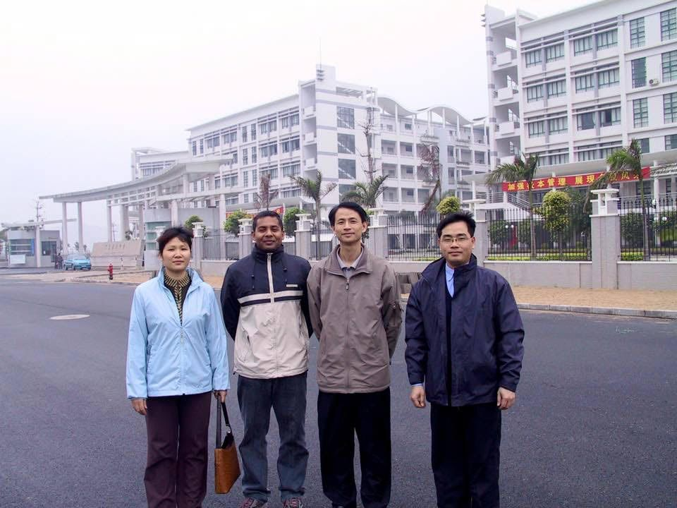 In Guangzhou in 2003