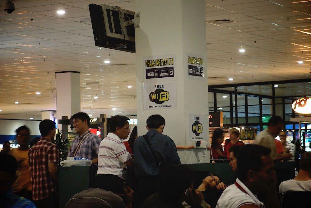 Huddlespaces at airports