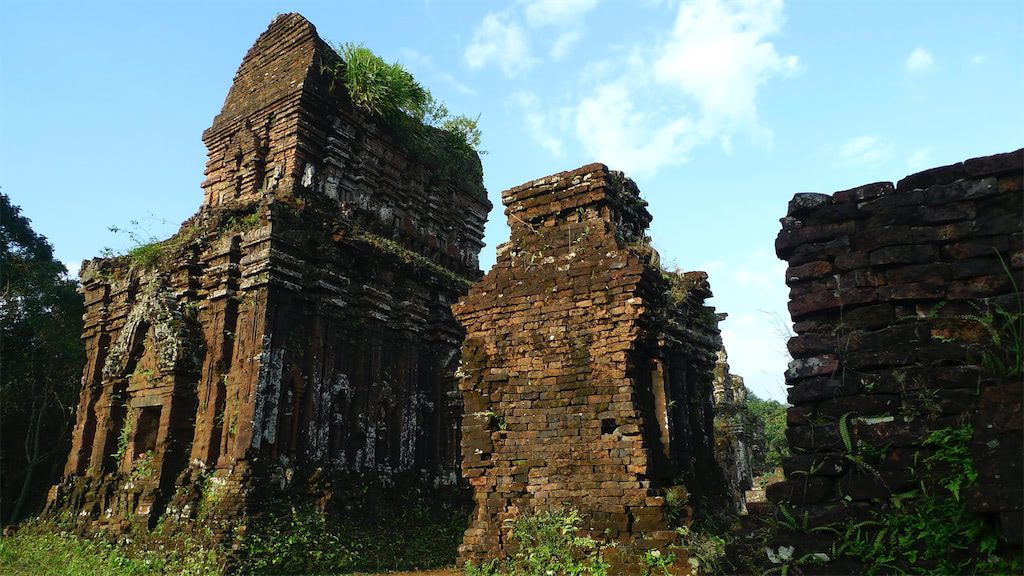Cham ruins at My Son