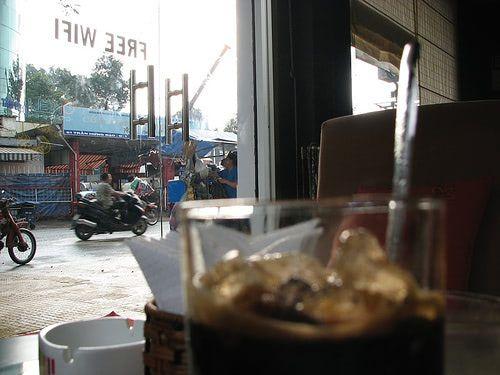 Saigon wifi cafe