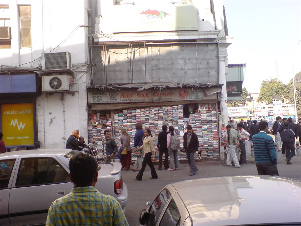 book shop in Delhi