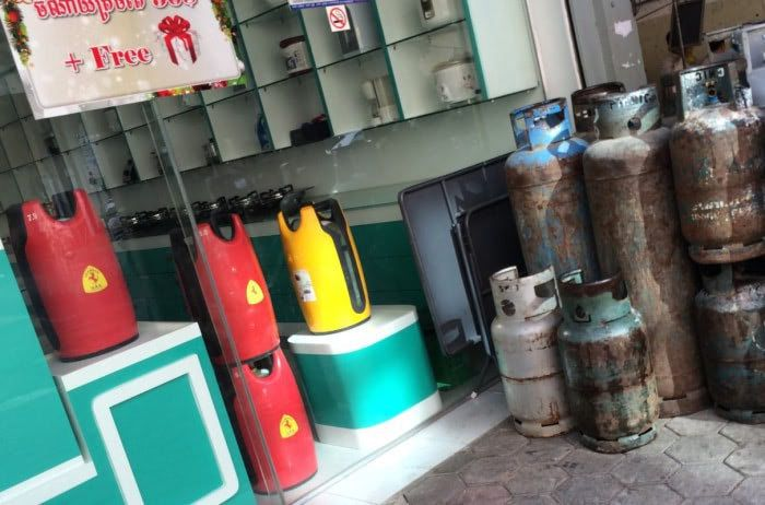 Pretty case for Gas Cylinder