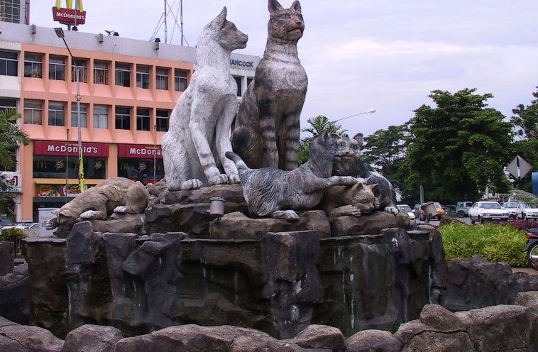 Kuching, the cat city