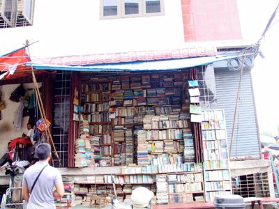 Bookshop in Rangoon