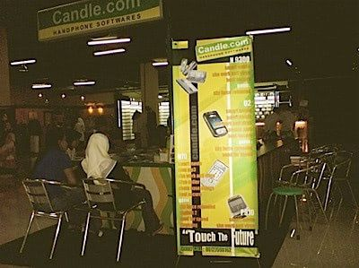 Mobile phone shops in Indonesia