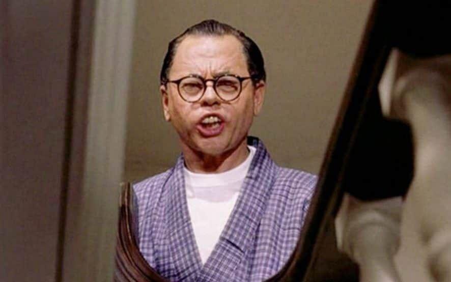 Mr Yunioshi (Played by Mickey Rooney) - Breakfast at Tiffany's