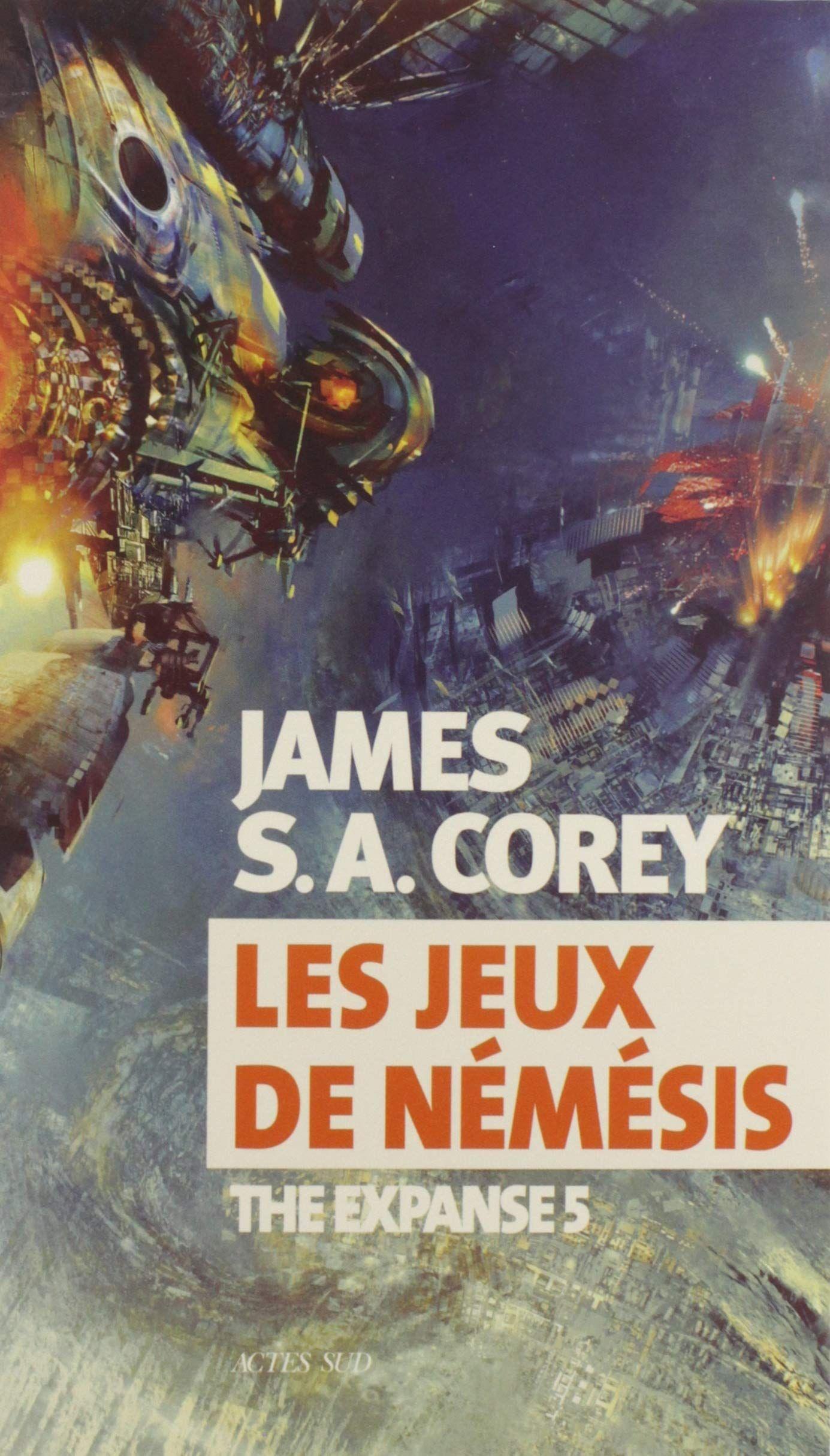 Les Jeux de Némésis – James S.A. Corey