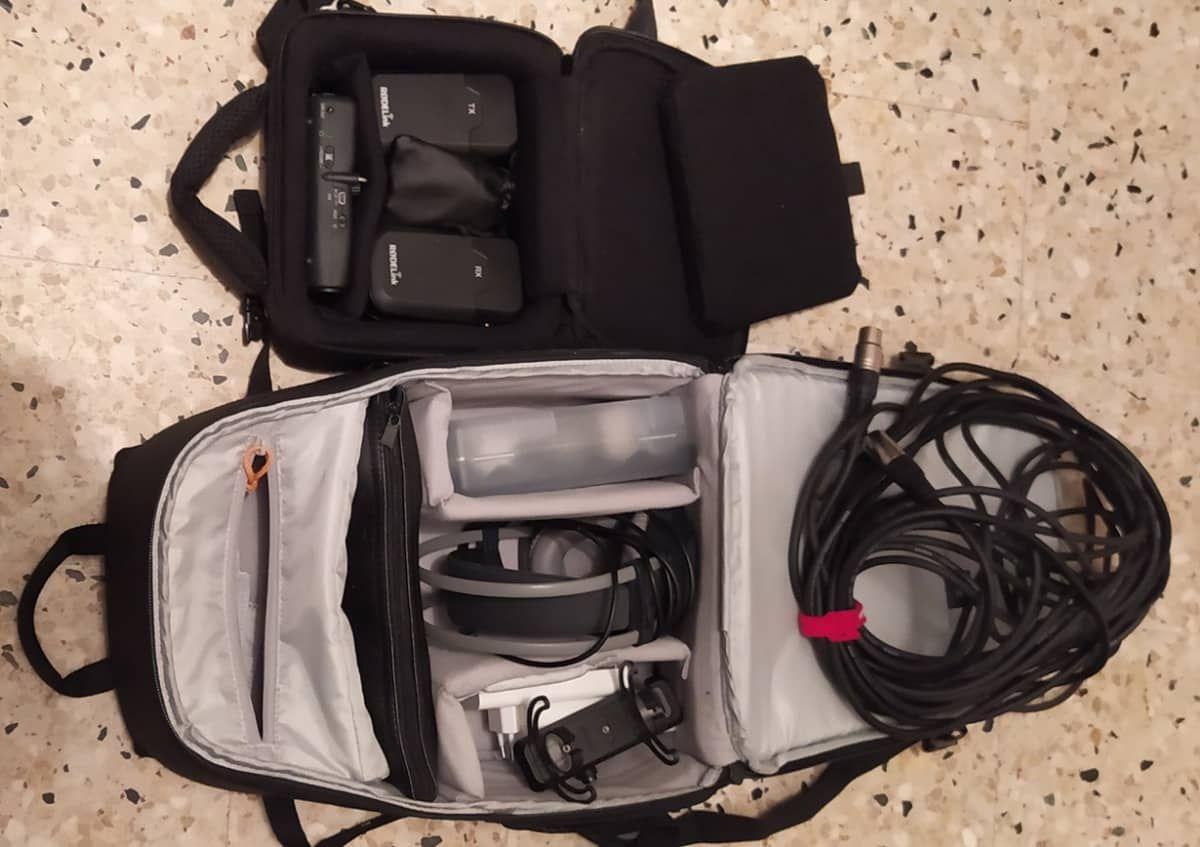 Le matériel de captation sonore, prêt à servir !