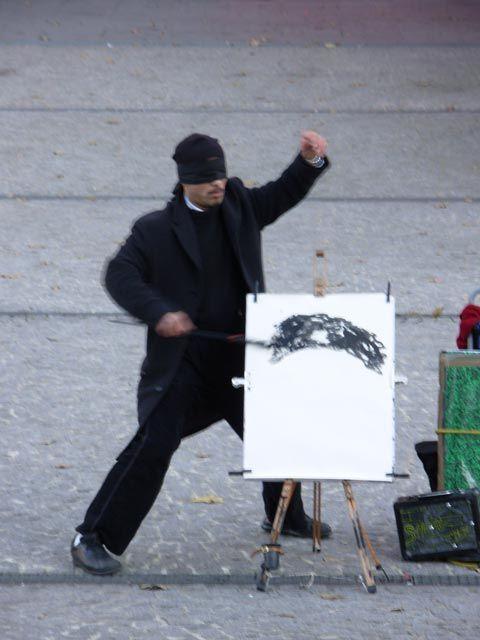 Le peintre-ninja