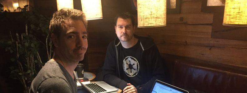 Niklas Lindroth och Markus Sköld