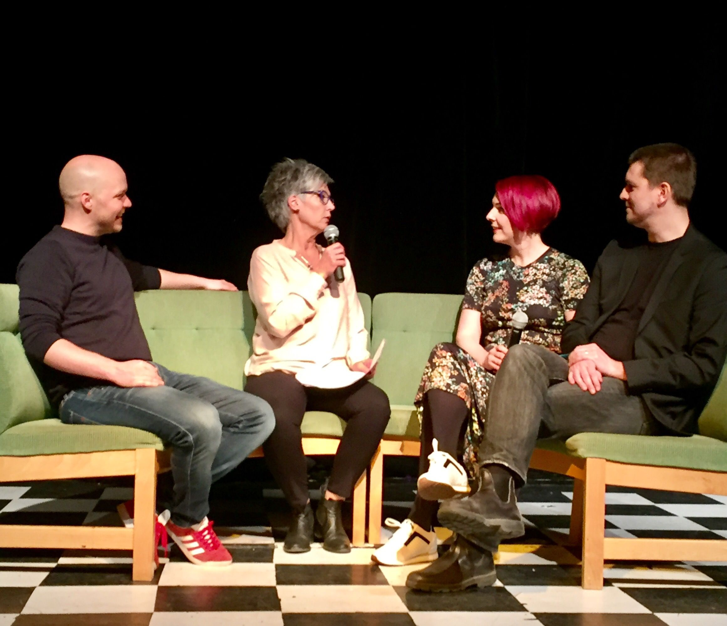 Fredrik Nylén, Madeleine Bäck och jag, modererade av Pia Möller Andersson