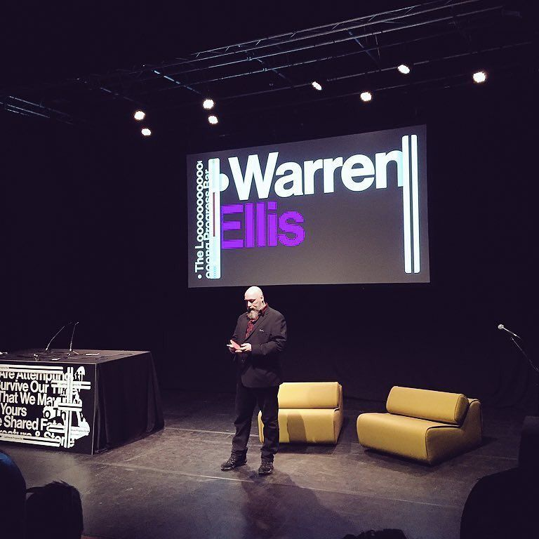 Warren Ellis » How To See The Future