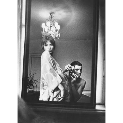 (Fig. 9: Vitas Luckus and his wife Tatjana, in a self-portrait)