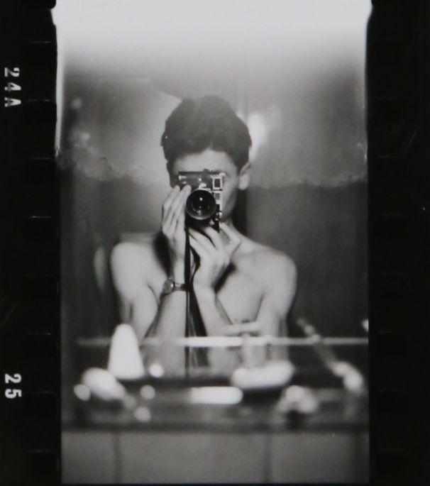 (fig.7: A self-portrait by Sergio Larraín)