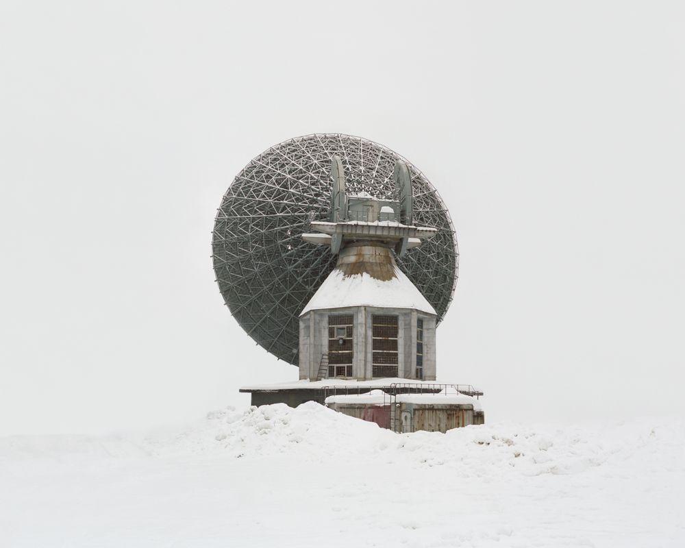 Antenne de communication interplanétaire, Région d'Arkhangelsk, Russie, 2013