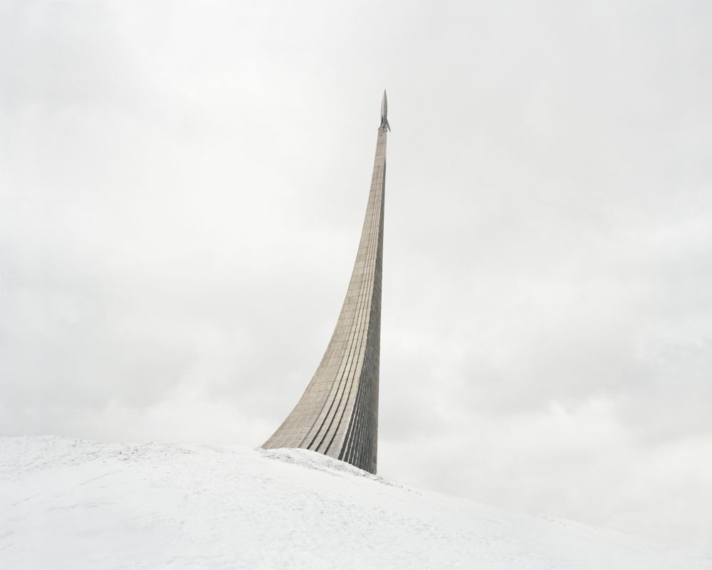 Monument aux Conquérants de l'espace, Moscou, Russie, 2015