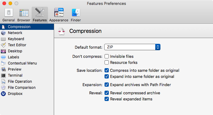 The Compression Pane