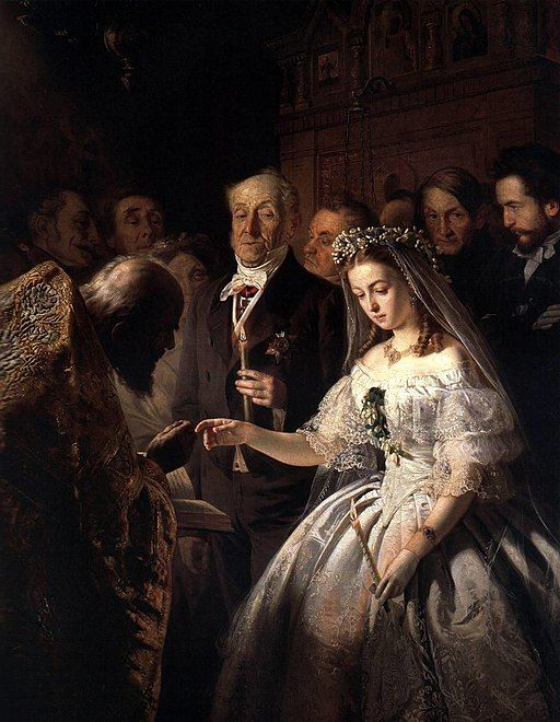 The Arranged Marriage, by V. V. Pukirev