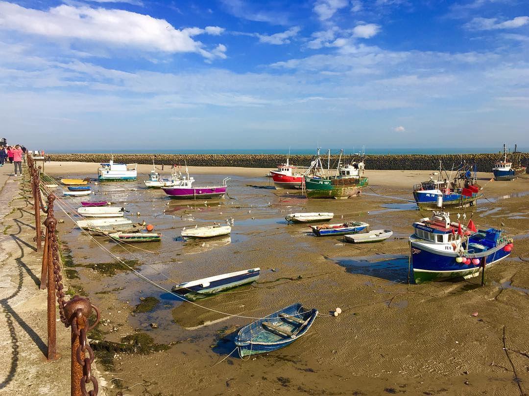 folkestone harbour  low tide 49002491317 o