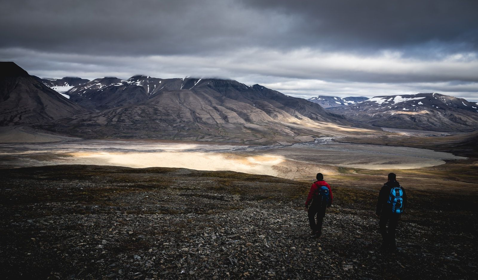 Svalbard, Norway by Patrick Schneider / Unsplash