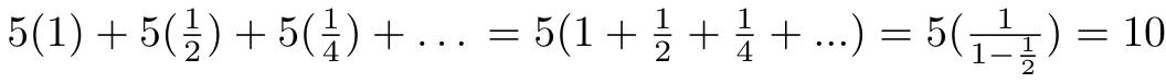 Infinite sum