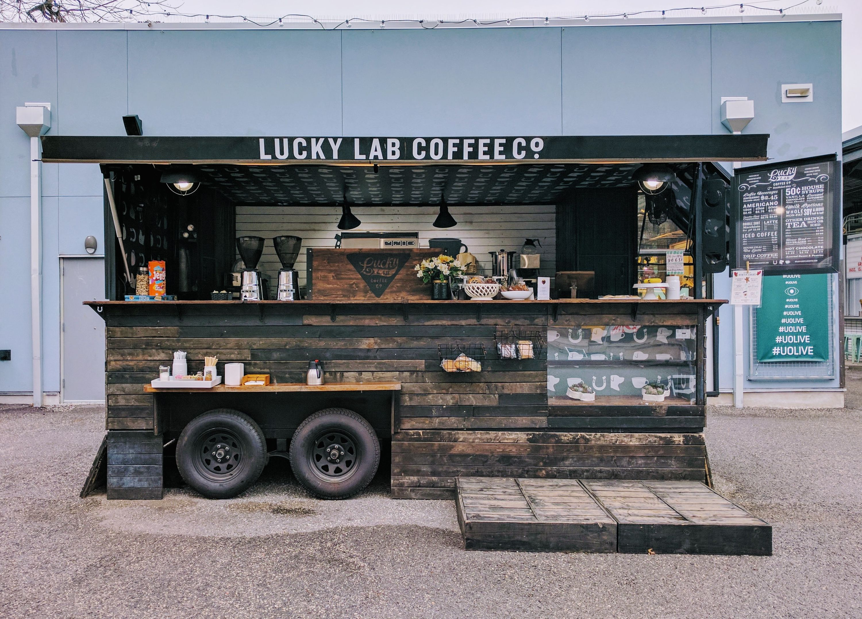 lucky lab coffee