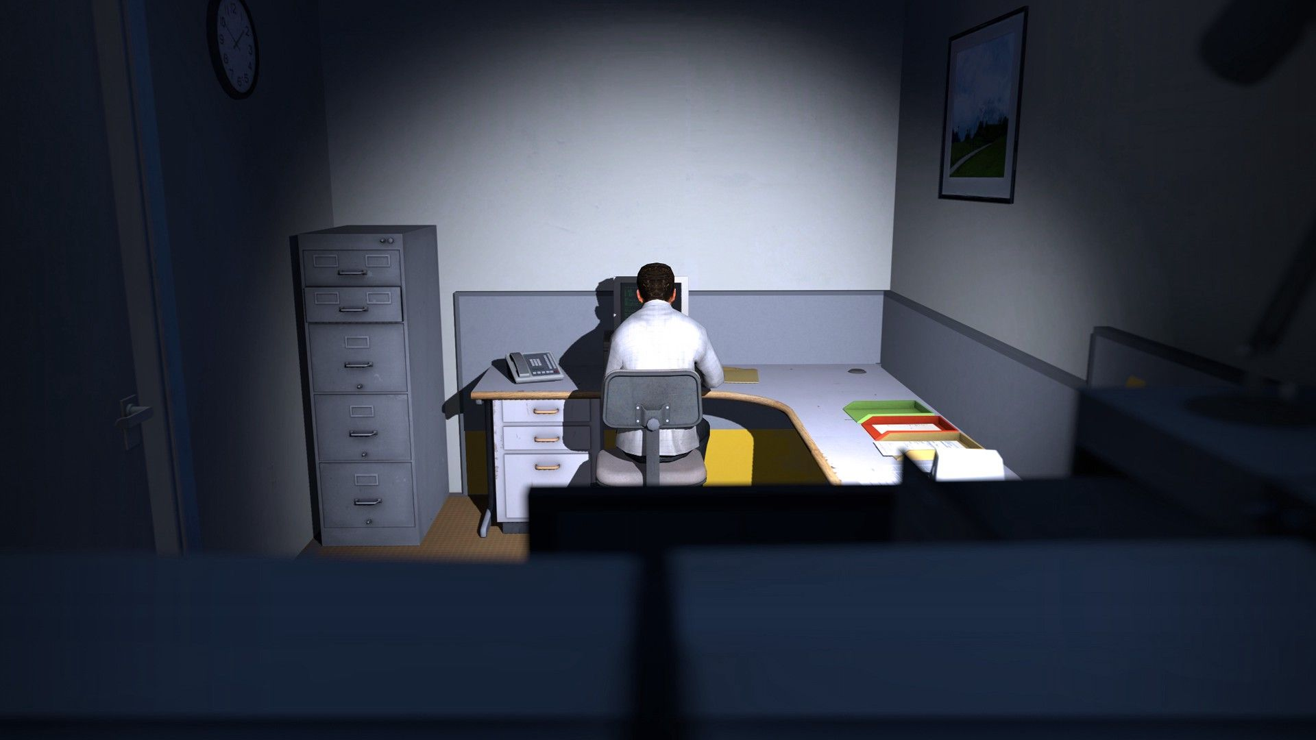 """Image from """"The Stanley Parable"""" by Galactic Cafe (CC BY-SA 3.0)"""