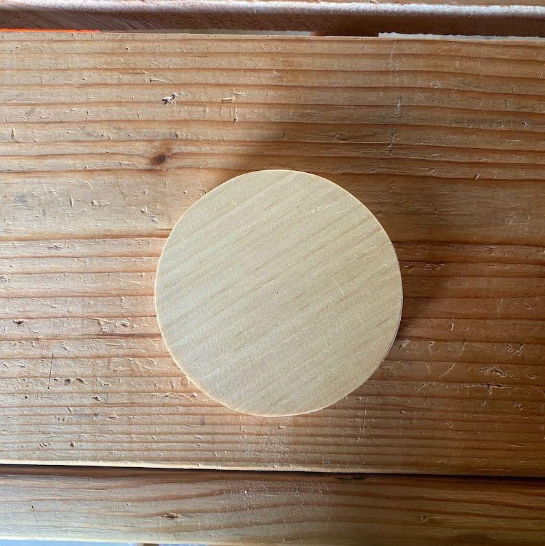 Wood Circle Top