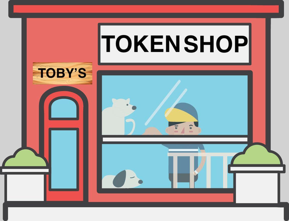 token shop logo